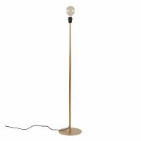 LAVAZ - vloerlamp voet - metaal - DIA 25 x H 122 cm - goud