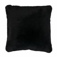 FLUF - coussin - acrylique / polyester - L 45 x W 45 cm - noir