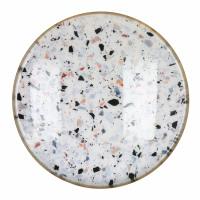 FLEX - dienblad large - metaal / email - DIA 65,5 x H 2 cm - mix van kleuren