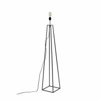 KIPS BAY - lampadaire base - métal - L 25 x W 25 x H 135 cm - noir