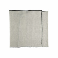 CHAMBRAY - set/2 table runners - linen / cotton - L 150 x H 40 cm - natural