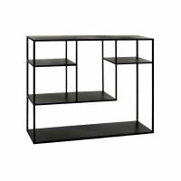 ESZENTIAL - étagère - métal - L 100 x W 30 x H 80 cm - noir