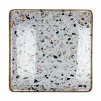 FLEX - dienblad medium - metaal / email - L 40 x W 40 x H 2 cm - mix van kleuren