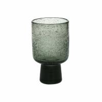 STÈLE - wijnglas - glas - DIA 7,2 x H 12 cm  - smoke