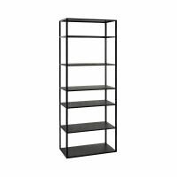 ESZENTIAL - étagère - métal - L 60 x W 30 x H 165 cm - noir