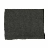 CHAMBRAY - tablecloth - linen / cotton - L 250 x W 150 cm - black