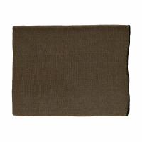 CHAMBRAY - tablecloth - linen / cotton - L 250 x W 150 cm - brown