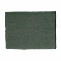 CHAMBRAY - tablecloth - linen / cotton - L 250 x W 150 cm - green