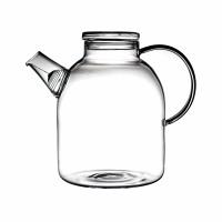 CLASSICA - théière - verre - D 12 x H 18 cm - transparent