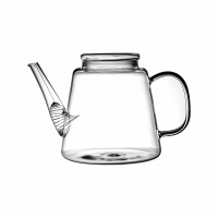 DONA - theepot - glass - DIA 14 x H 15 cm - clear