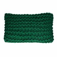 NITTU - coussin - acrylique - L 50 x W 30 cm - vert foncé