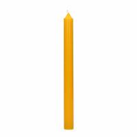 CANDLE - Candle Q201 - paraffin wax - H 25 cm - safron