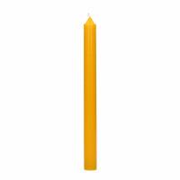 CANDLE - Kaars Q201 - paraffine wax - H 25 cm - safraan