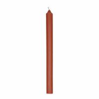 CANDLE - bougie - cire de paraffine - H 25 cm - terracotta