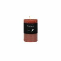 CANDLE - bougie - cire de paraffine - DIA 5 x H 8 cm - terracotta