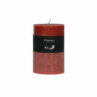CANDLE - bougie - cire de paraffine - DIA 7 x H 10 cm - terracotta