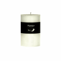 CANDLE - kaars - paraffine wax - DIA 7 x H 10 cm - ivoor