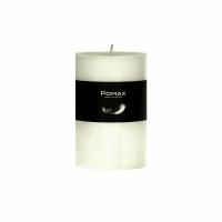 CANDLE - kaars - paraffine wax - DIA 7 x H 10 cm - ivoor