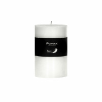 CANDLE - kaars - paraffine wax - DIA 7 x H 10 cm - Wit