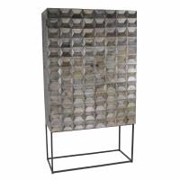 HEX  - cupboard - mango wood - L 100 x W 45 x H 180 cm