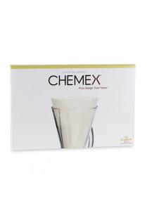 Filterpapier Chemex ongevouwen (3-cups)