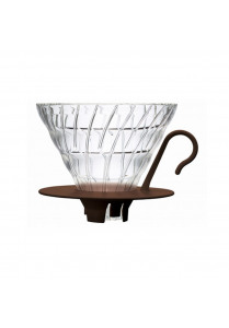 V60 Dripper 02 - Glass Brown