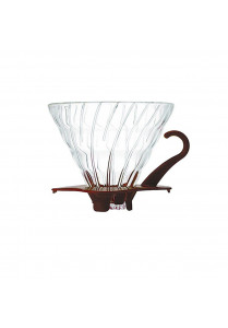 V60 GLASS DRIPPER VDGN-02CBR BROWN