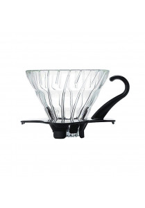 V60 Dripper 01 - Glass Black