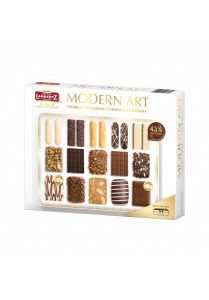 Premium Chocolate Cookies - Modern Art (500g)