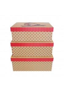 Kerstman Gift Box (set van 3)
