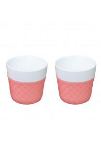 Lola Coffeecups 12cl – Roze (2 st)