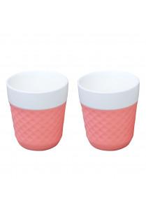 Lola Teacups 20cl – Roze (2 st)