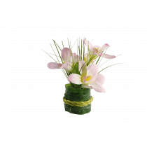 Boeket Bloemen 15cm Roze