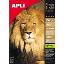 Fotopapier Apli 240G/M² Glossy 20Bl Inkjet