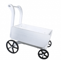Presentatie Kinderwagen Wit