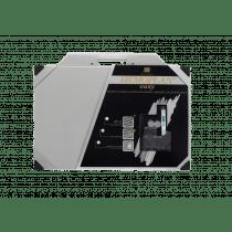 Memobord 40x60cm Grijs Kit Memoplan