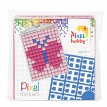 Pixelhobby Sleutelhanger Pixel Vlinder