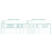 Register 320X240Mm Exacompta Aandeelhouders Nv 100Bl 2-Talig