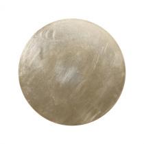 Decobord 0,5cm Champagne 28cm Diameter Foil