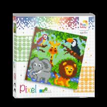 Pixelhobby Set Pixel Dierenrijk