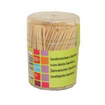 Tandenstokers 65mm Bamboe 1 Punt 2mm 500 Stuks