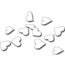 Confetti Papier Wit 250g Harten