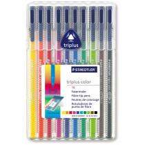 Kleurstiften Triplus Staedtler Assorti 10 Stuks