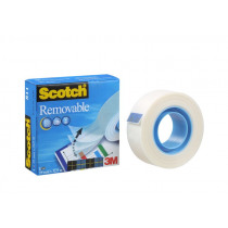 Tape 33m x 19mm Scotch Removable