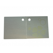Naamkaartje 4X4Cm 'Oui' 50 Stuks