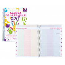 Brepols Agenda 233x172mm FR 7D/2P Familieplanner