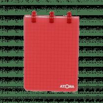 Atoma Notaboek Transparant 78x107mm 60 Bladzijden Geruit