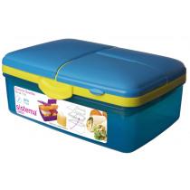 Trends Lunch Lunchbox Met Drinkfles Slimline Quaddie 1,5l