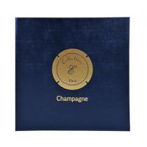 Ringmap 25X24,2Cm Exacompta Blauw Vr 100 Champagne Capsules