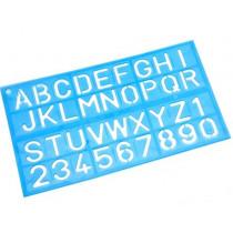 Lettersjabloon Cijfers En Letters 30mm